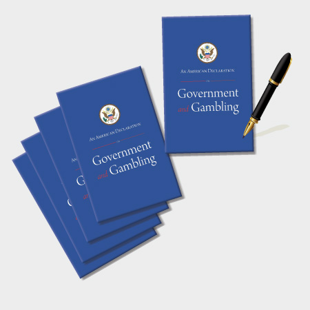 An American Declaration on Government and Gambling